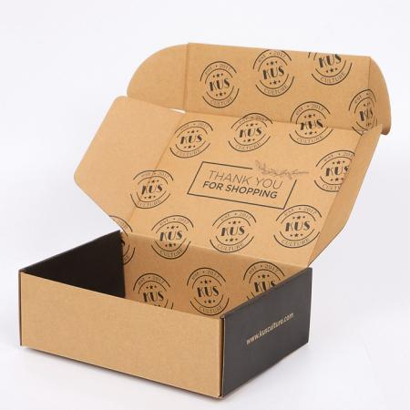Brown Craft Paper Postal Box