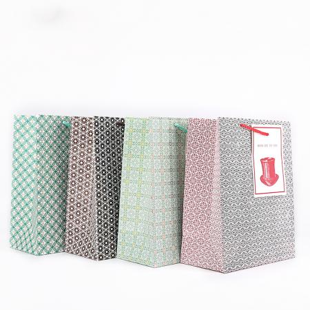 christmas promotional paper gift bag wholesale