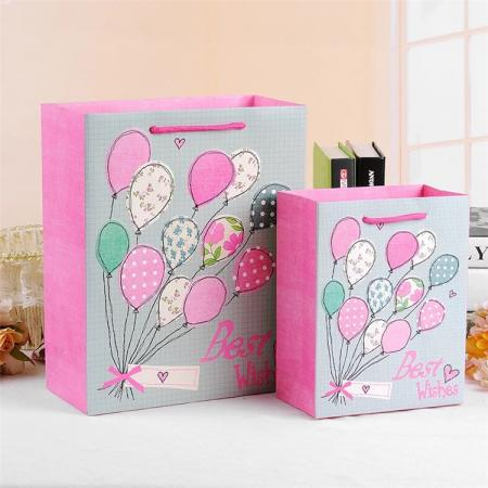 Christmas paper gift bags for sweets wholesale