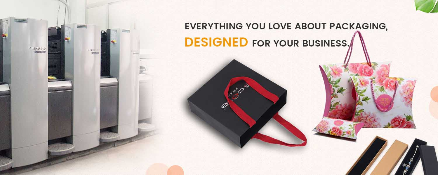 Custom packaging design for your business